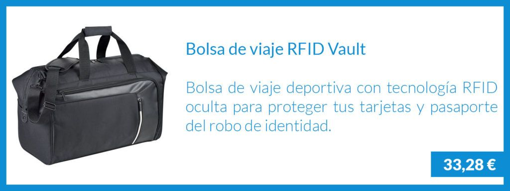 Bolsa Viaje RFID Vault