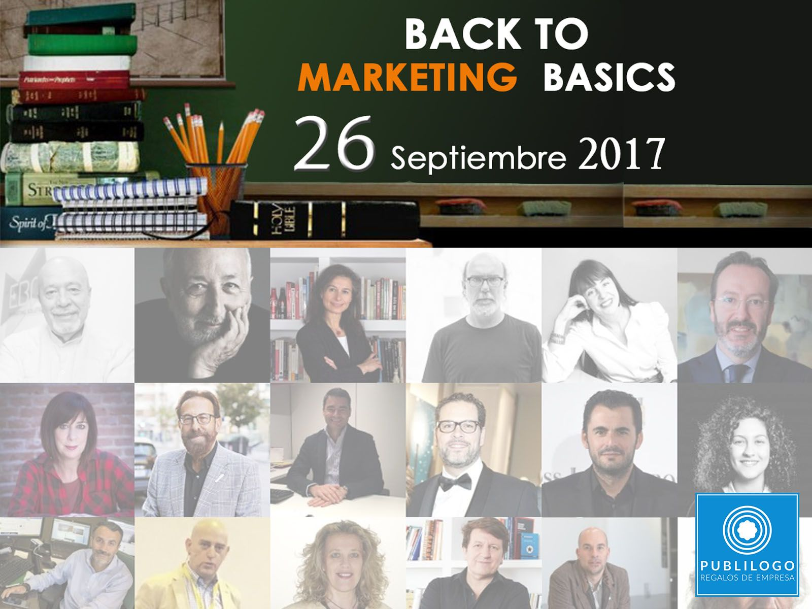 Colaboración en el evento Back to the Marketing Basics 2017