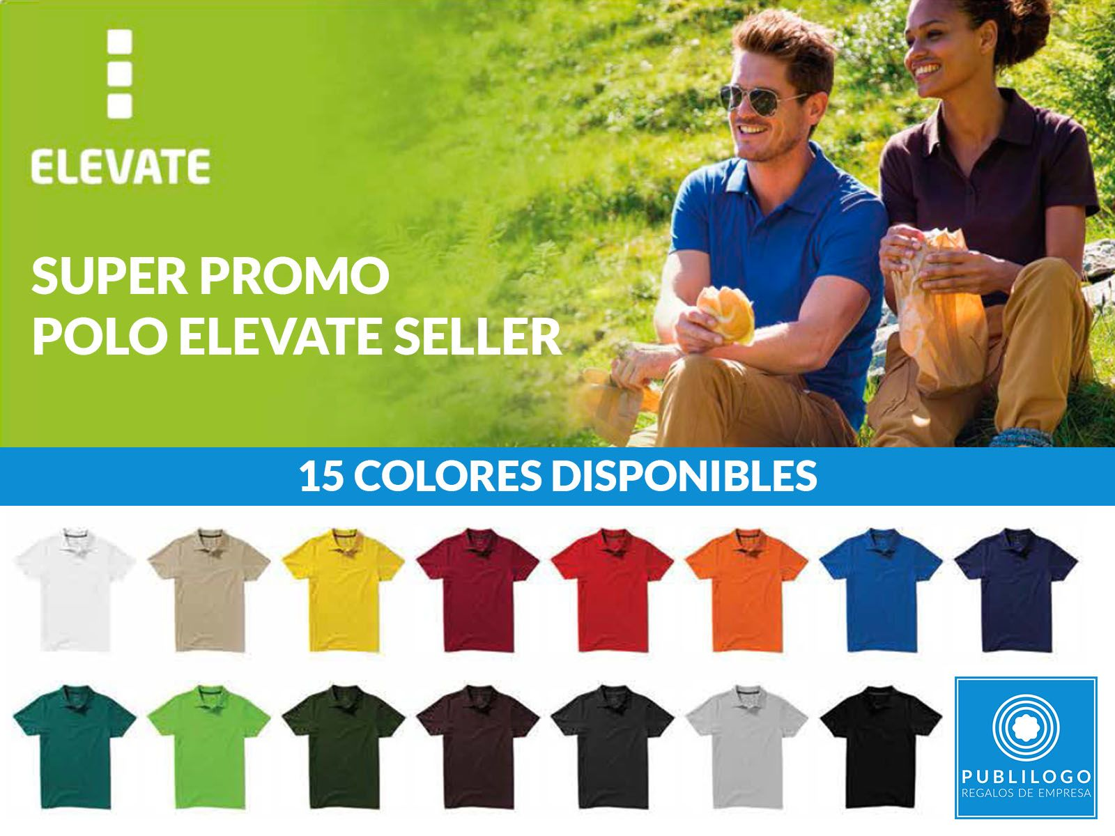 Super Promoción Polo Elevate Seller