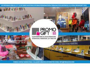 Asistencia a Promogift 2018